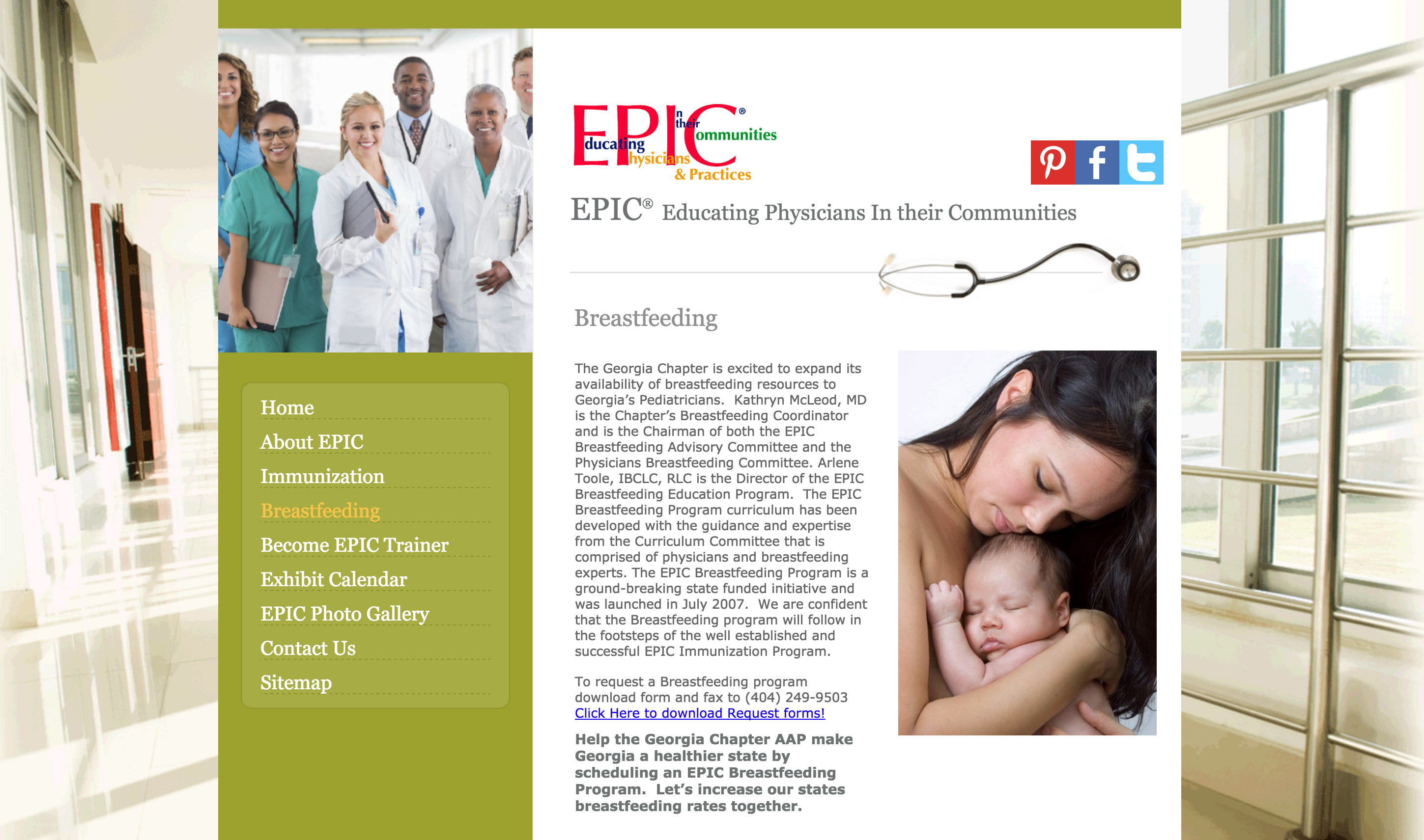 Epic Breastfeeding Program Georgia